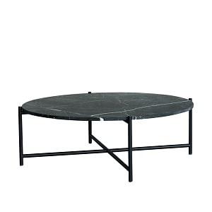 Handvärk marmor coffee table ø90