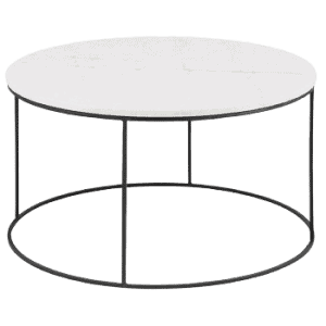 Virage sofabord Ø80, Marmor