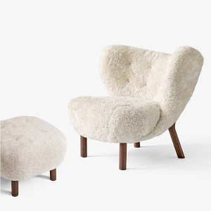 Lille Petra VB1 + Pouf fra &Tradition