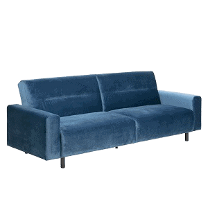 Navy blue Casperia sovesofa