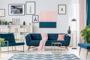 farverig indretning