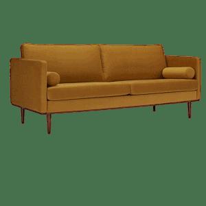 Kragelund Vangen 3-pers. velour sofa