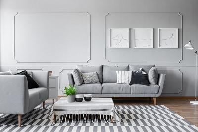 sofaen i centrum